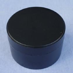 Słoik 200 ml, 20 szt. PP czarny